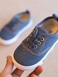 preiswerte -Jungen / Mädchen Schuhe Leinwand Frühling & Herbst Komfort Sneakers Schnürsenkel für Kinder / Baby Dunkelblau / Rot / Blau