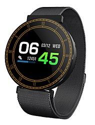 abordables -Reloj elegante H1 para Android 4.3 y superior / iOS 7 y superior Monitor de Pulso Cardiaco / Impermeable / Medición de la Presión Sanguínea / Calorías Quemadas / Standby Largo Podómetro / Despertador