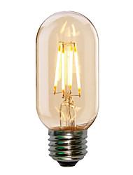Недорогие -1шт 4 W 360 lm E26 / E27 LED лампы накаливания T45 4 Светодиодные бусины COB Декоративная Тёплый белый / Холодный белый 220-240 V / 1 шт. / RoHs