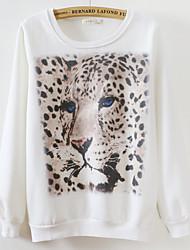 cheap -Women's Sweatshirt - Leopard, Print