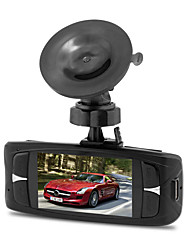billige -Factory OEM HD / Nattesyn Bil DVR 140 grader Vidvinkel 12 MP 2.7 inch LCD Dash Cam med Loop-optagelse / Loop-cycle Recording Biloptager
