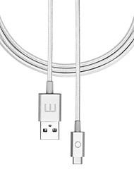 cheap -MEIZU USB 2.0 Type C to USB 2.0 Male - Female 1.2m(4Ft) Braid