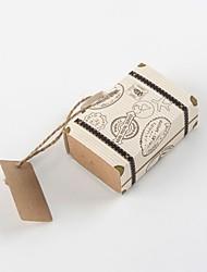 Недорогие -Кубический Картон Фавор держатель с С плетеными ремешками Коробочки - 12шт