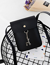 cheap -Women's Bags PU(Polyurethane) Mobile Phone Bag Solid Blushing Pink / Beige / Gray