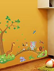 economico -Adesivi decorativi da parete - Adesivi aereo da parete Animali Al Coperto / Camera dei bambini