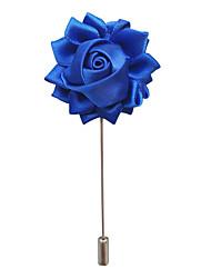 Недорогие -Муж. Классический / Стильные Броши - Цветы европейский, Элегантный стиль Брошь Бижутерия Синий / Винный / Светло-коричневый Назначение Свадьба / Для вечеринок