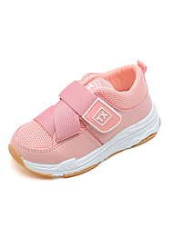 cheap -Girls' Shoes Knit Fall / Spring & Summer Comfort Athletic Shoes Running Shoes / Walking Shoes Gore for Kids / Toddler Black / Pink / Booties / Ankle Boots / Color Block