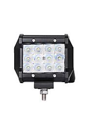 baratos -Lights Maker 1 Peça Motocicleta / Carro Lâmpadas 36 W SMD 3030 12 LED Luz Anti Neblina Para Universal / motocicletas Todos os Anos
