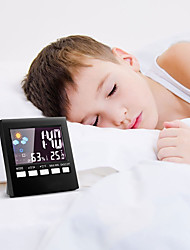 cheap -Alarm clock LED Plastics Automatic Self Wind 1 pcs