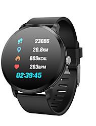 Недорогие -Indear V11 Умный браслет Android iOS Bluetooth Водонепроницаемый Пульсомер Измерение кровяного давления Сенсорный экран / Израсходовано калорий / Педометр / Напоминание о звонке