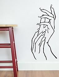 baratos -Autocolantes de Parede Decorativos - Adesivos de parede de pessoas Formas / Fadas Quarto / Quarto das Crianças