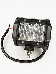 Недорогие -1 шт. Нет Автомобиль Лампы 60 W Интегрированный LED 6000 lm 6 Светодиодная лампа Внешние осветительные приборы Назначение Универсальный Универсальный Все года