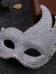 Недорогие -Праздничные украшения Украшения для Хэллоуина Маски на Хэллоуин Для вечеринок / Cool Серебряный 1шт