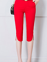 cheap -Women's Basic Legging - Solid Colored Mid Waist