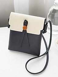 baratos -Mulheres Bolsas PU Telefone Móvel Bag Botões Vermelho / Rosa / Cinzento