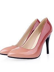 お買い得  -女性用 靴 エナメル 夏 ベーシックサンダル ヒール スティレットヒール イエロー / レッド / アーモンド