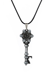 cheap -Men's Stylish / Logo Pendant Necklace - Keys 1920s, Casual / Sporty, Gothic Cool, Lovely Silver, Bronze 48 cm Necklace Jewelry 1pc For Club, Bar