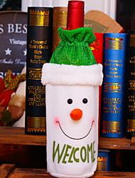 baratos -Sacos e Transportadores de Vinho Férias Não-Tecelado Cubo Novidades Decoração de Natal