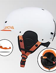 Недорогие -Лыжный шлем Все Сноубординг Лыжи Система противодействия столкновению Регулируется Углеволокно + пенополистирол Полипропилен + ABS CE
