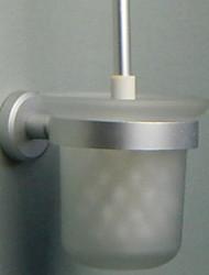 abordables -Porte Brosse de Toilette Design nouveau Moderne Aluminium 1pc Porte-brosse WC Montage mural