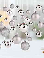 economico -Decorazioni di festa Vaganze e saluti / Decorazioni di Natale Natale / Oggetti decorativi Feste / Adorabile Argento 20pcs