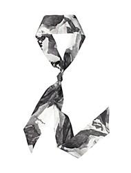 Недорогие -Шелк Шарф / лента Жен. Повседневные Темно-серый