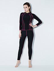baratos -Mulheres Esportivo / Básico Tanquini - Sólido / Estampa Colorida Shorts de Natação