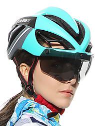 baratos -INBIKE Adulto Capacete de Bicicleta com Óculos de Proteção 19 Aberturas EPS, PC Esportes Ciclismo / Moto - Preto / Vermelho / Verde / preto / Black / azul Unisexo