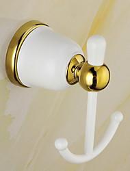 Недорогие -Крючок для халата Новый дизайн / Cool Modern Сплав титана 1шт На стену