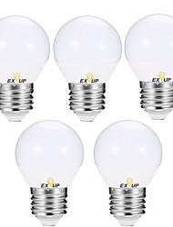 Недорогие -EXUP® 5 шт. 5 W 400-450 lm E14 / E26 / E27 Круглые LED лампы G45 12 Светодиодные бусины SMD 2835 Тёплый белый / Холодный белый 110-130 V