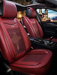 Недорогие -ODEER Чехлы на автокресла Чехлы для сидений Бордовый текстильный / Искусственная кожа Общий Назначение Универсальный Все года Все модели