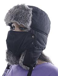 baratos -Esqui Máscara Facial / Chapéu Homens / Mulheres Térmico / Quente Pranchas de Snowboard Poliéster Esportes de Inverno Inverno