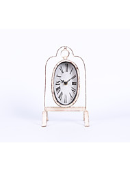 cheap -Clock Tabletop Clock Traditional / Classic / Fashion Plastic & Metal Irregular