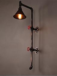abordables -Antique / Rétro Appliques Salle de séjour / Couloir Métal Applique murale 110-120V / 220-240V 60 W
