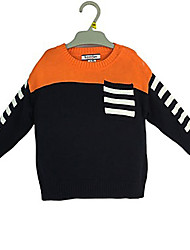 cheap -Toddler Boys' Simple Color Block Long Sleeve Cotton Sweater & Cardigan