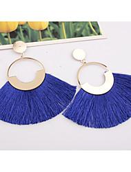 abordables -Femme Glands Boucles d'oreille goutte - Européen, Mode, énorme Vin / Bleu clair / Vert foncé Pour Soirée Plein Air