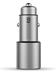 Недорогие -Xiaomi Автомобиль Автомобильное зарядное устройство 2 USB порта для 12 V