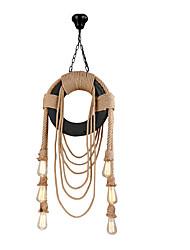 abordables -6 lumières Mini Lampe suspendue Lumière dirigée vers le bas Finitions Peintes PVC Style mini 110-120V / 220-240V Ampoule non incluse / FCC