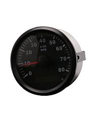 Недорогие -mls023 Мотоцикл Тахометр для Мотоциклы Все года Универсальный измерительный прибор Водонепроницаемый / тахометр