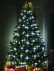 Недорогие -HKV 1,5 м Гирлянды 64 светодиоды RGB Для вечеринок / Новогоднее украшение для свадьбы 220-240 V 1шт