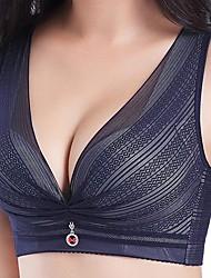 abordables -Aux femmes Sexy Soutien-gorge Push-Up / Sans Armature Grand Maintien - Couleur Pleine