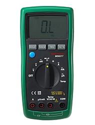 Недорогие -mastech ms8217 истинный среднеквадратичный цифровой мультиметр измерительный прибор AC / DC постоянный ток сопротивления емкостного тестера& измерение температуры
