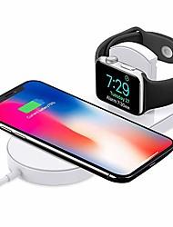 Недорогие -cwxuan беспроводное зарядное устройство USB зарядное устройство с кабелем / QC 3,0 / быстрое зарядное устройство 1A DC 9V / DC 5V для iPhone XS / XS Макс / XR / X / Iphone 8 / Plus / IWatch