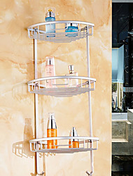 Недорогие -Полка для ванной Новый дизайн / Многофункциональный Современный Алюминий 1шт Аксессуары для туалета На стену