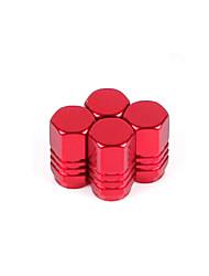Недорогие -алюминиевый сплав клапан колпак автомобильный клапан колпак колпачок крышки клапана автомобильный товар (4 шт)