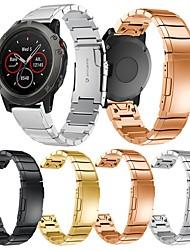 Недорогие -Ремешок для часов для Fenix 5x Garmin Классическая застежка Металл / Нержавеющая сталь Повязка на запястье