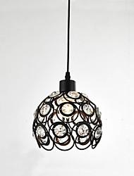 cheap -CXYlight Mini Pendant Light Downlight - Crystal, Mini Style, 110-120V / 220-240V Bulb Not Included