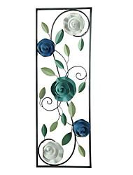 Недорогие -Пейзаж Декор стены Металл Пастораль Предметы искусства, Металлические украшения на стену Украшение