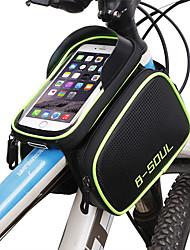 Недорогие -Сотовый телефон сумка / Бардачок на раму 6.2 дюймовый Сенсорный экран, Водонепроницаемость Велоспорт для Велосипедный спорт / iPhone X / iPhone XR Синий