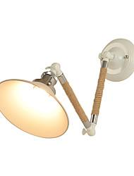 abordables -Style mini simple / Rétro Lumières de bras oscillant Salle de séjour / Couloir Métal Applique murale 110-120V / 220-240V 60 W